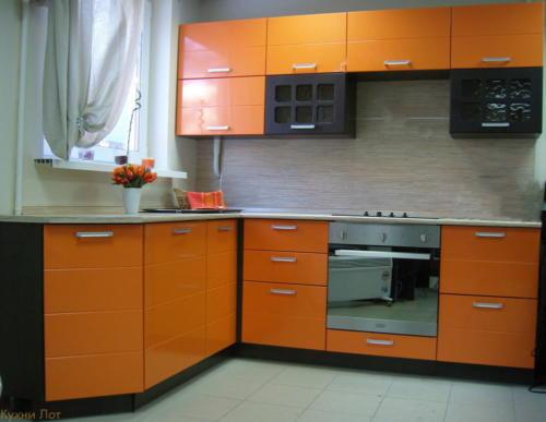 Кухня МДФ 002