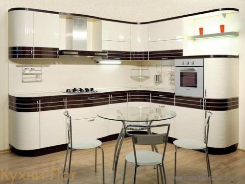 Кухня МДФ 003
