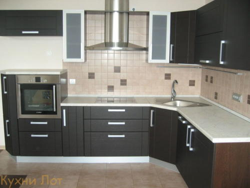 Кухня МДФ 010