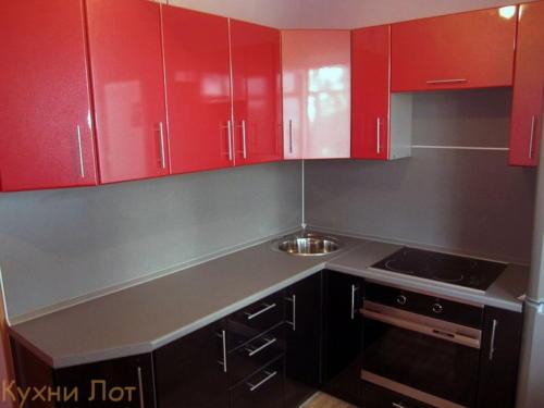 Кухня МДФ 014