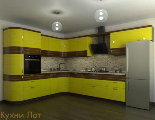 Кухня МДФ 016