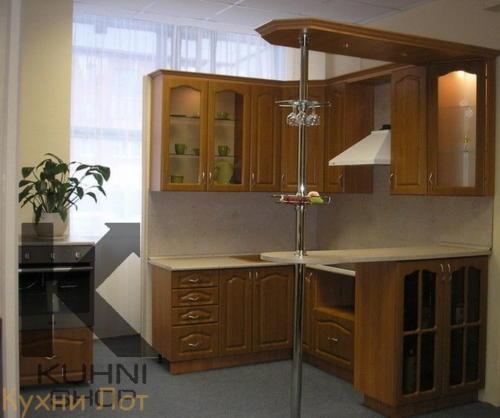 Кухня МДФ 025