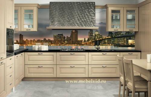 Кухня МДФ 027