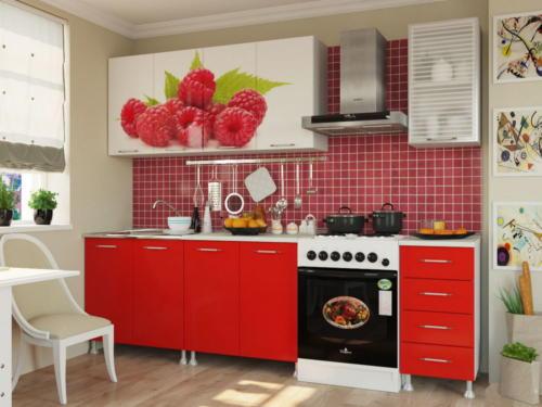 Кухня МДФ 029